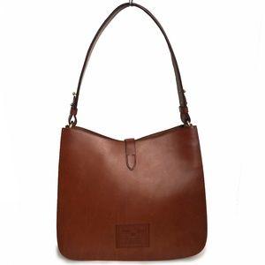 Ralph Lauren Proprietor Shoulder Bag Leather HTF